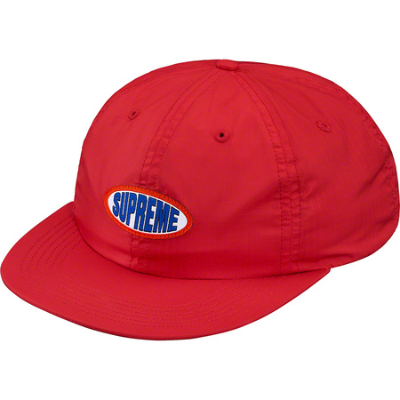 Oval Label 6-Panel (Red)