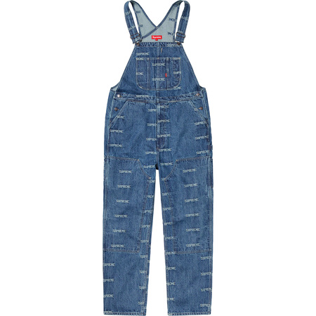 Logo Denim Overalls (Blue)
