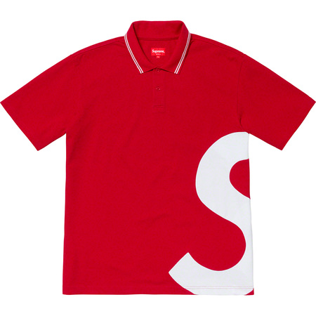 S Logo Polo (Red)