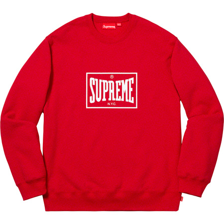 Warm Up Crewneck (Red)