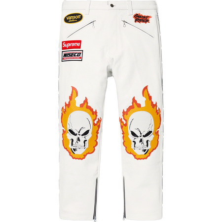 Supreme®/Vanson Leathers® Ghost Rider© Pant (White)