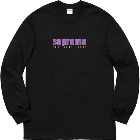 The Real Shit L/S Tee (Black)