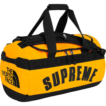 Supreme®/The North Face® Arc Logo Small Base Camp Duffle Bag (Yellow)