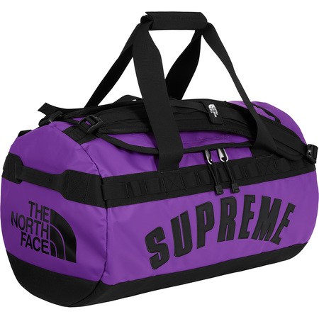 Supreme®/The North Face® Arc Logo Small Base Camp Duffle Bag (Purple)