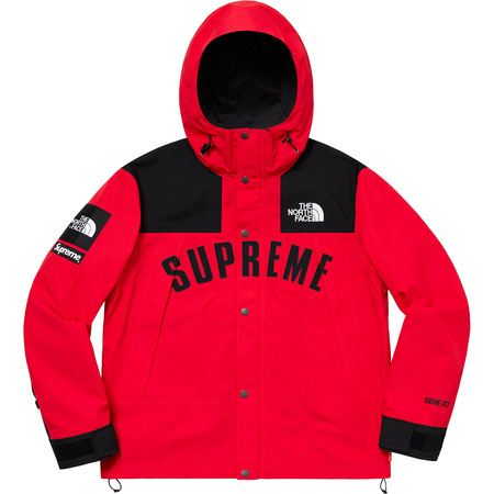 Supreme®/The North Face® Arc Logo Mountain Parka (Red)