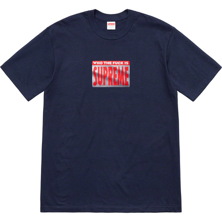 Who The Fuck Tee (Navy)