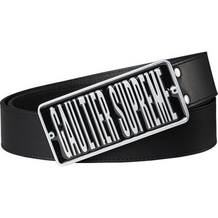 Supreme®/Jean Paul Gaultier® Belt (Black)