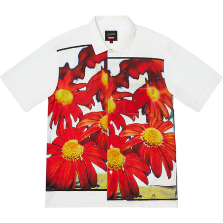 Supreme®/Jean Paul Gaultier® Flower Power Rayon Shirt (White)