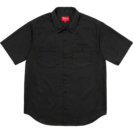 Sekintani La Norihiro/Supreme Work Shirt (Black)