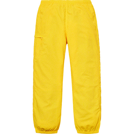 Nylon Trail Pant (Yellow)