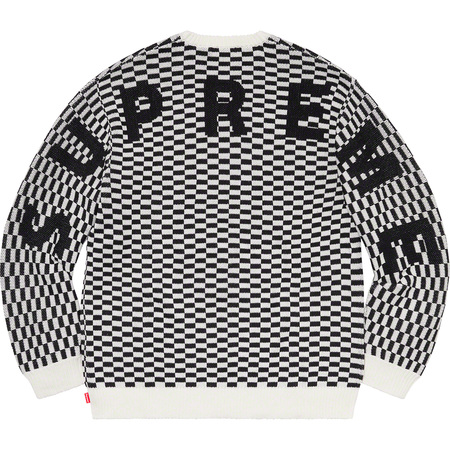 Back Logo Sweater (Checkerboard)