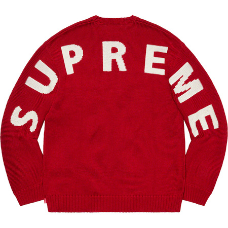 Back Logo Sweater (Red)