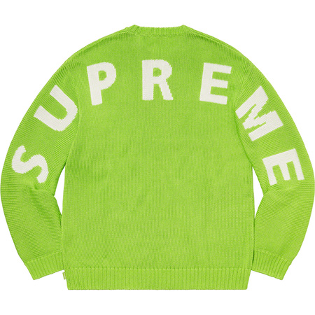 Back Logo Sweater (Green)