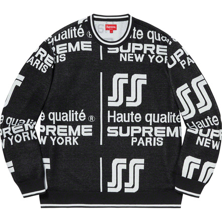 Qualité Sweater (Black)