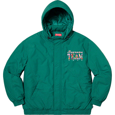 Supreme Team Puffy Jacket (Teal)