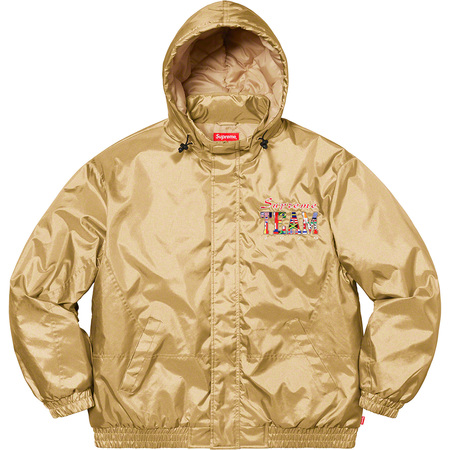 Supreme Team Puffy Jacket (Gold)