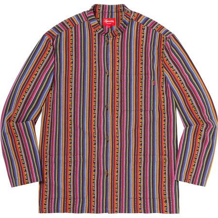Woven Toggle Shirt (Multicolor)