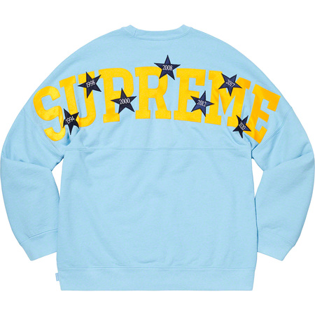 Stars Crewneck (Ice Blue)