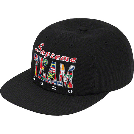 Supreme Team 6-Panel (Black)