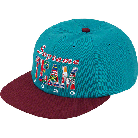 Supreme Team 6-Panel (Teal)