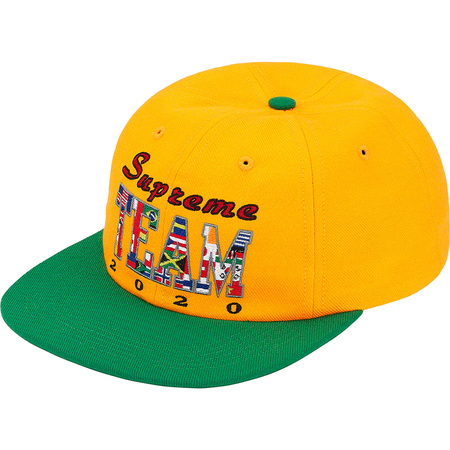 Supreme Team 6-Panel (Yellow)