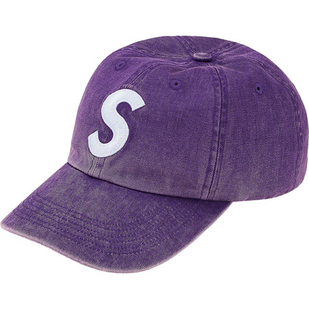 Pigment Print S Logo 6-Panel (Purple)