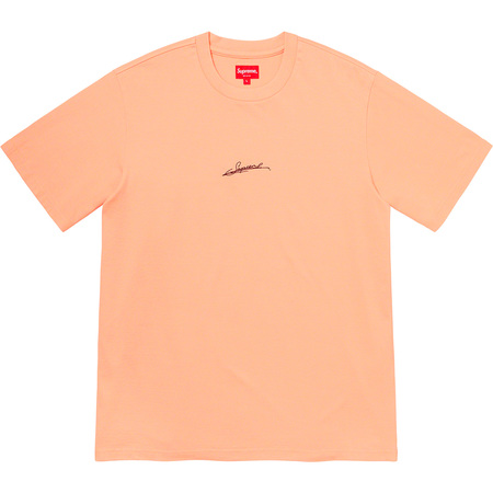 Signature S/S Top (Peach)