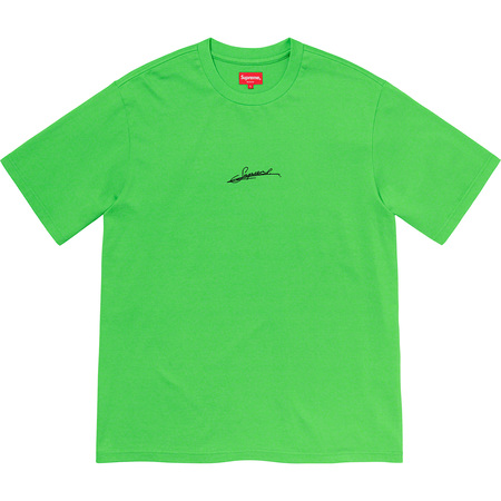Signature S/S Top (Green)