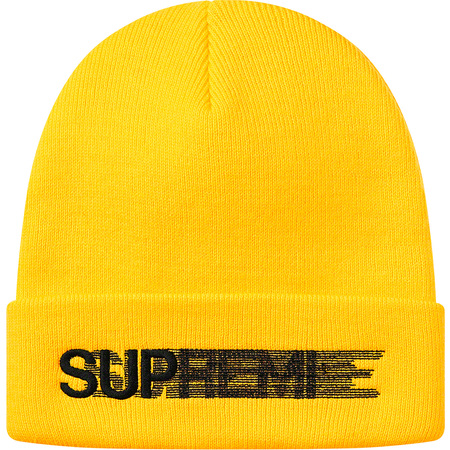 Motion Logo Beanie (Yellow)