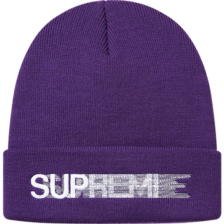 Motion Logo Beanie (Purple)