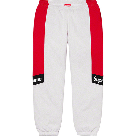 Color Blocked Sweatpant (Ash Grey)