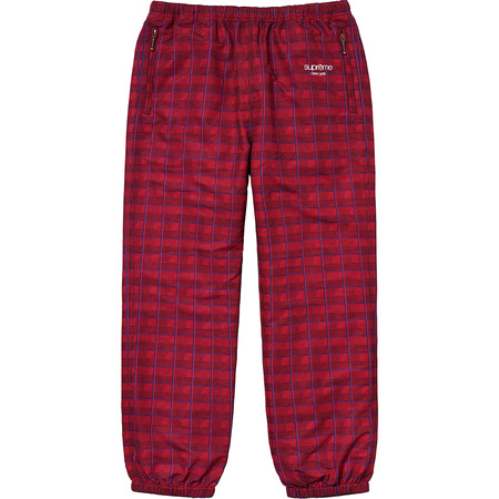 Track Pant (Red Glen Plaid)