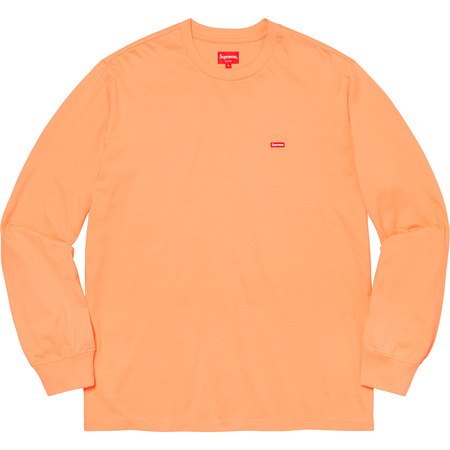 Small Box L/S Tee (Peach)