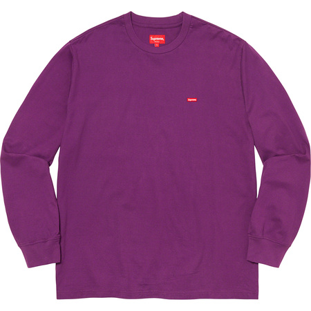 Small Box L/S Tee (Purple)