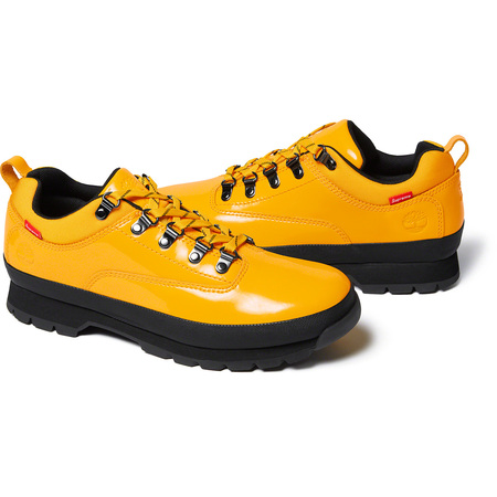 Supreme®/Timberland® Patent Leather Euro Hiker Low (Yellow)