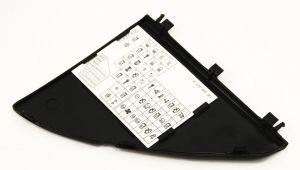 Dash Fuse Panel Door Diagram Trim VW Jetta Golf GTI 9905