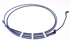 Under Car Plastic Fuel Lines 9805 VW Beetle 18T  Gas Tank to Engine Bay