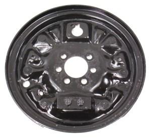 LH Rear Drum Brake Backing Plate 9399 VW Jetta Golf Cabrio MK3 ~ Genuine