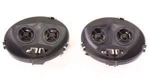 Front Dash Speakers 9399 VW Jetta Golf GTI MK3 Cabrio ~ Genuine ~ 1H0 035 411