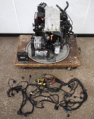 20 ABA Engine Motor Swap VW Jetta Golf GTI Cabrio MK1 MK2 MK3  ECU & Wiring