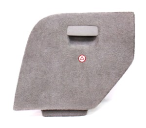 LH Trunk Side Carpet Door VW Jetta Wagon MK4 Hatch Access Panel  Grey  Genuine