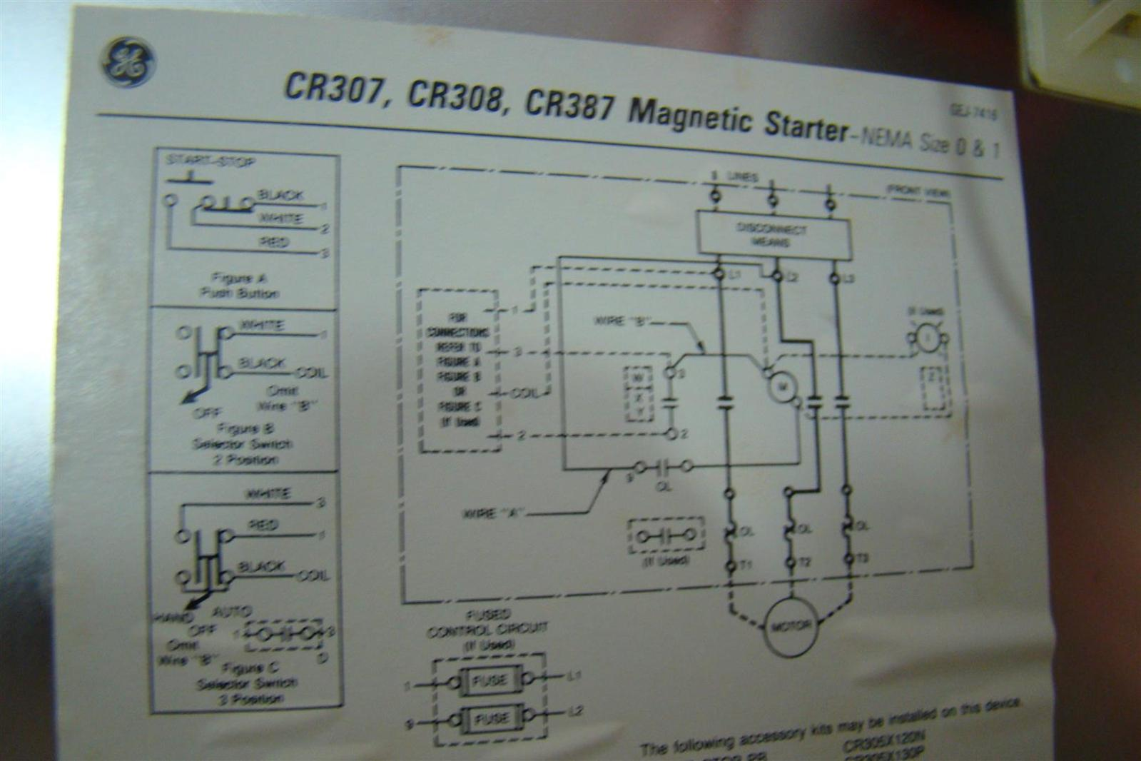 Modern Wiring Magnetic Starter Ensign Wiring Diagram Ideas