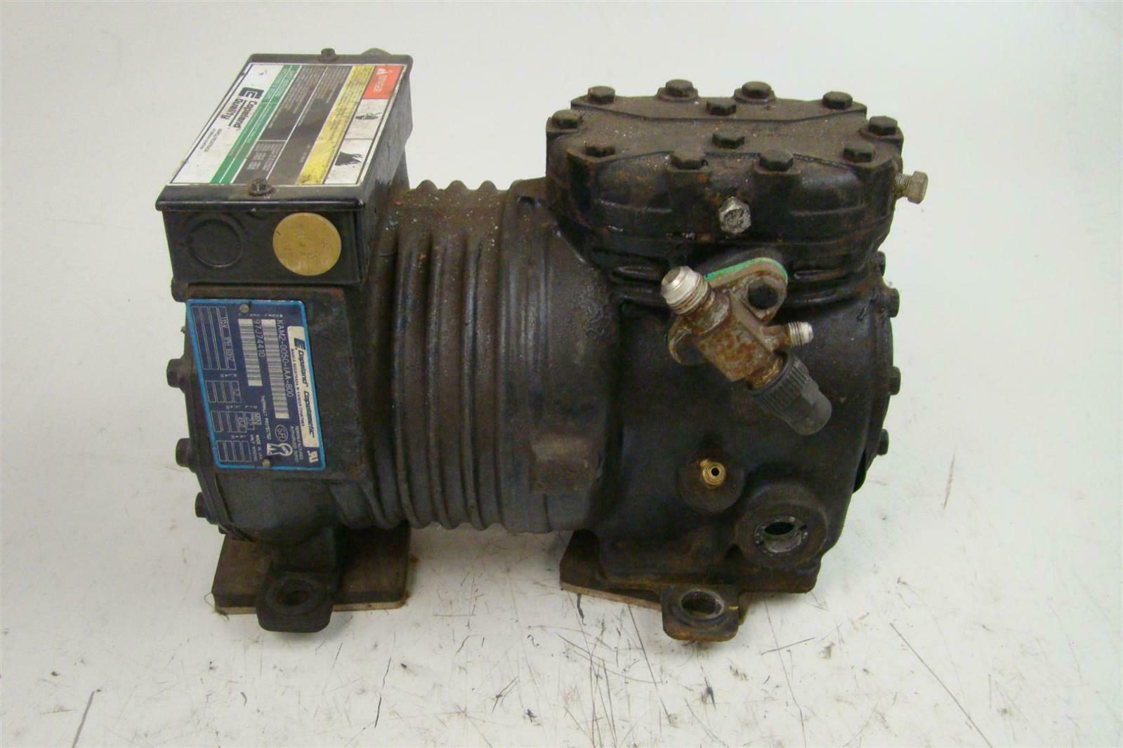 Copeland Semi Hermetic Refrigeration Compressor 115v 1ph