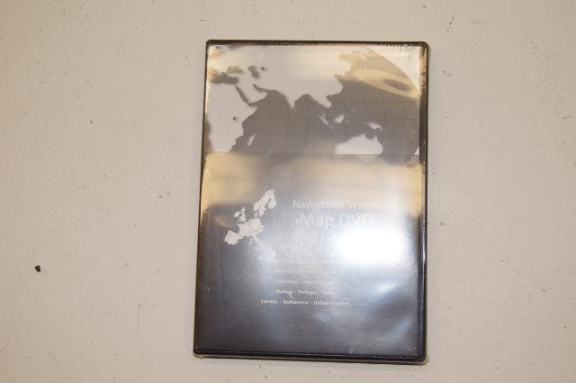 Cadillac Europe Navigation Nav DVD Disc