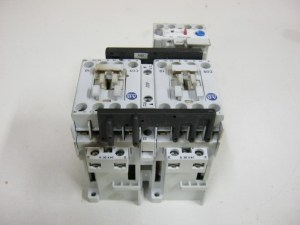 Allen Bradley 104C09DJ22 Reversing Motor Starter Series B 600 VAC 3 Pole | eBay