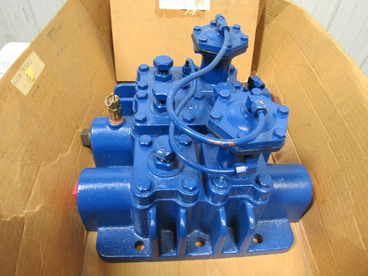 Quincy X31l 00 Air Compressor Cylinder Head W