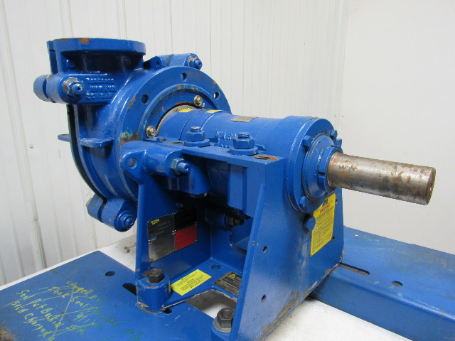 Warman 4 3 Dah Metal Lined Centrifugal Slurry Pump