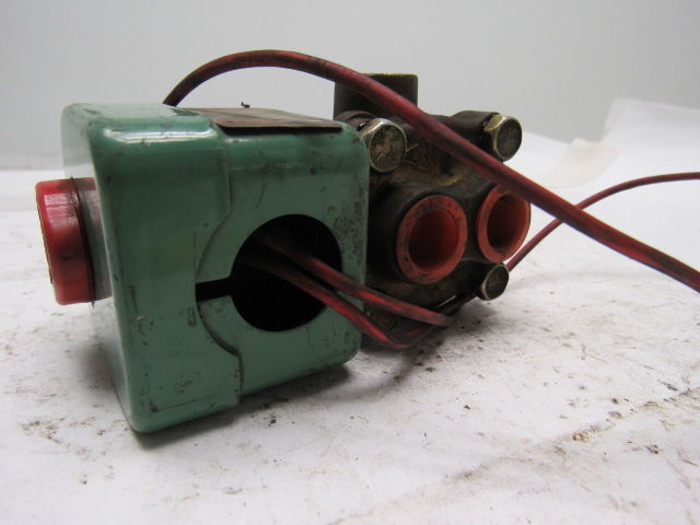 Way Red Solenoid Hat 3 Valves Asco