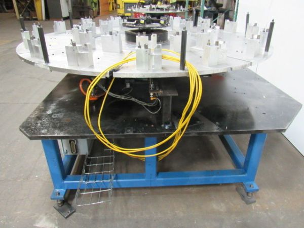 """Camco 80"""" Dia. Rotary Indexer Turn Table Positioner ..."""