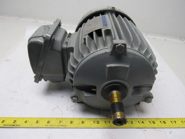 Leland Faraday M 2hp Electric Motor 208 230 460v 3ph